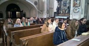 Adventní návštěva u Františkánů