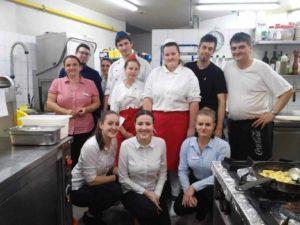 Výměnná praxe žáků gastro oborů na Slovensku