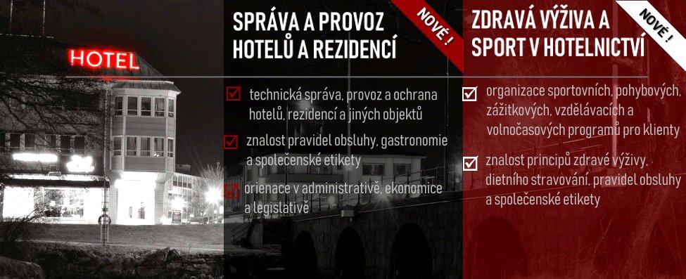 HOTELNICTVÍ - nové zaměření